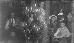 Candle Light Christmas Tree