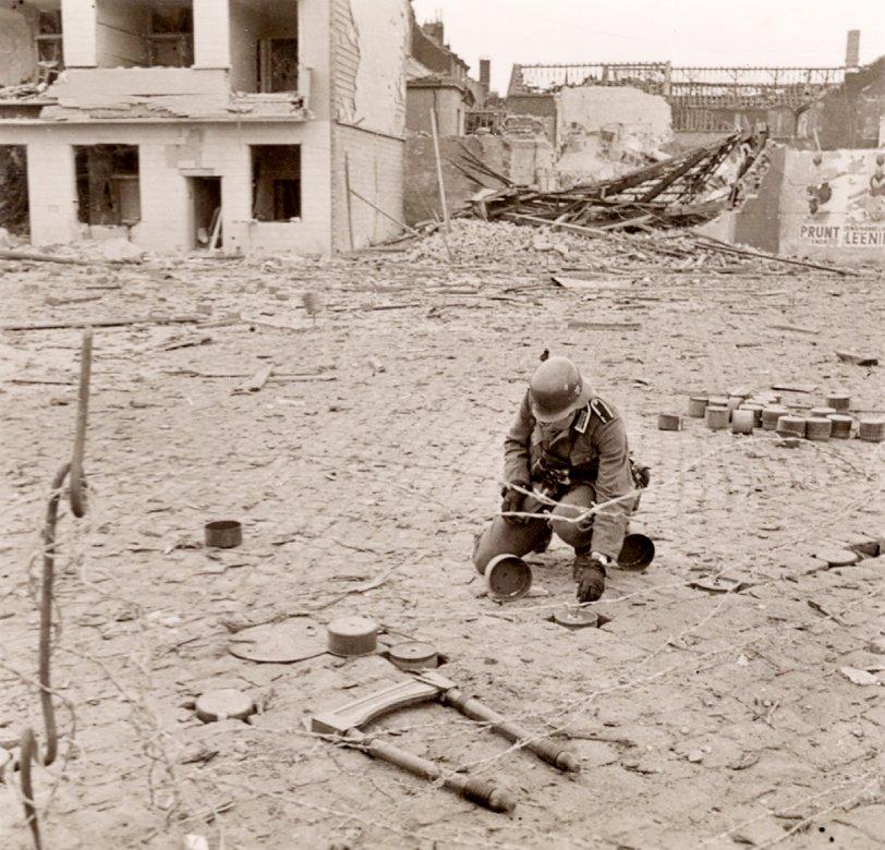 Mine Field: WWII