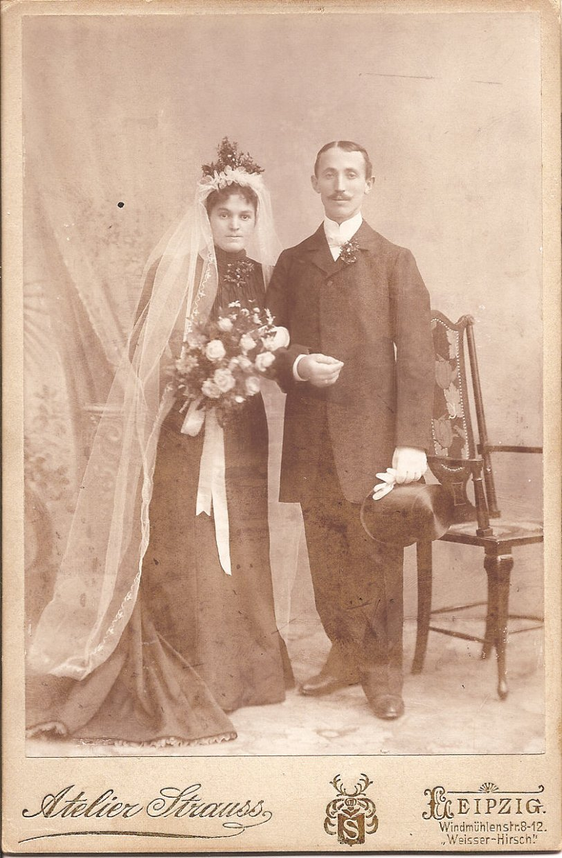Karl and Marie Agotz: 1902