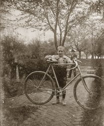 A tall bike for a short kid, 1895