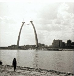Building the Arch, 1965