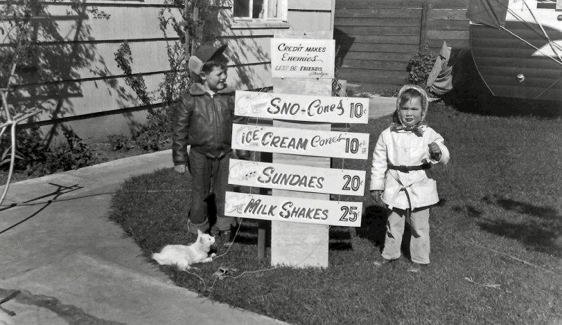 Let's Be Friends: 1955