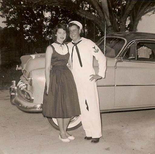 1950's Navy man