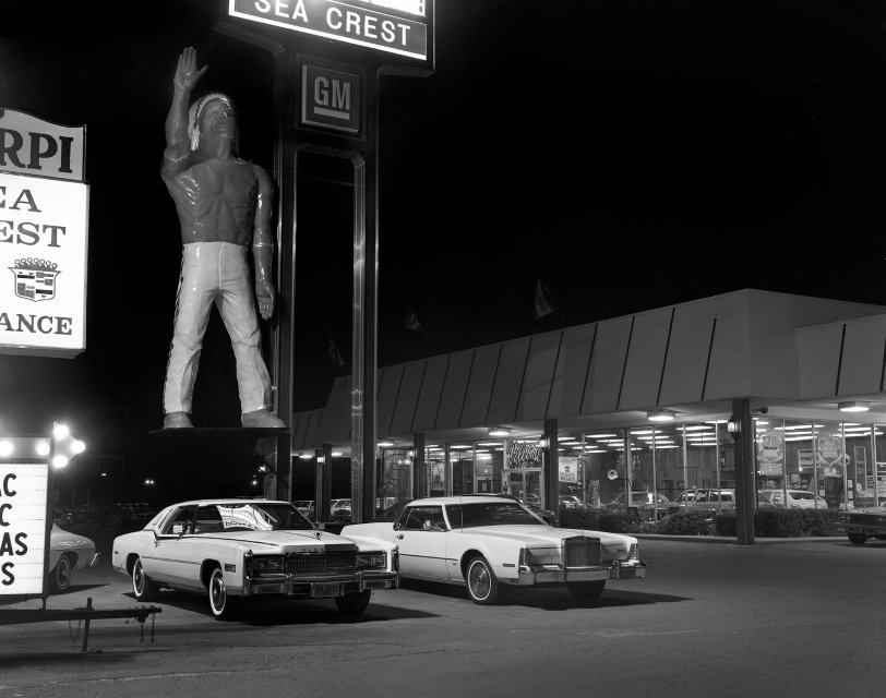 Car Dealerships New Orleans >> Sea Crest Motors: 1977 | Shorpy | Historical Photos