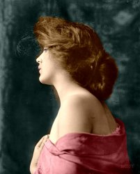 La Belle Fille (Colorized): 1900