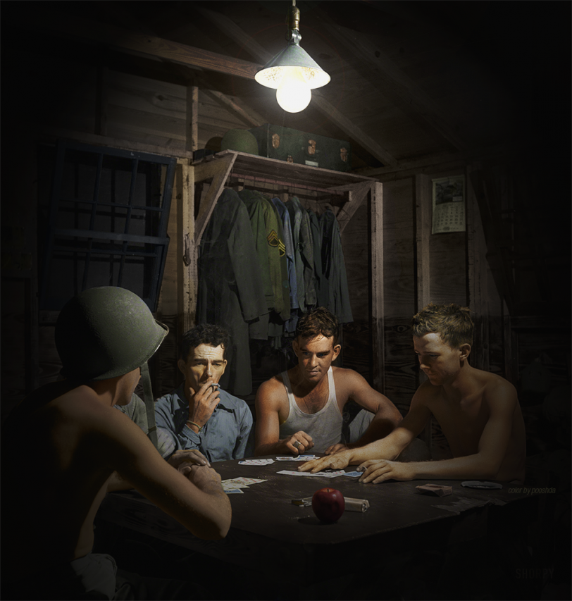 Five Card Studs (Colorized): 1943
