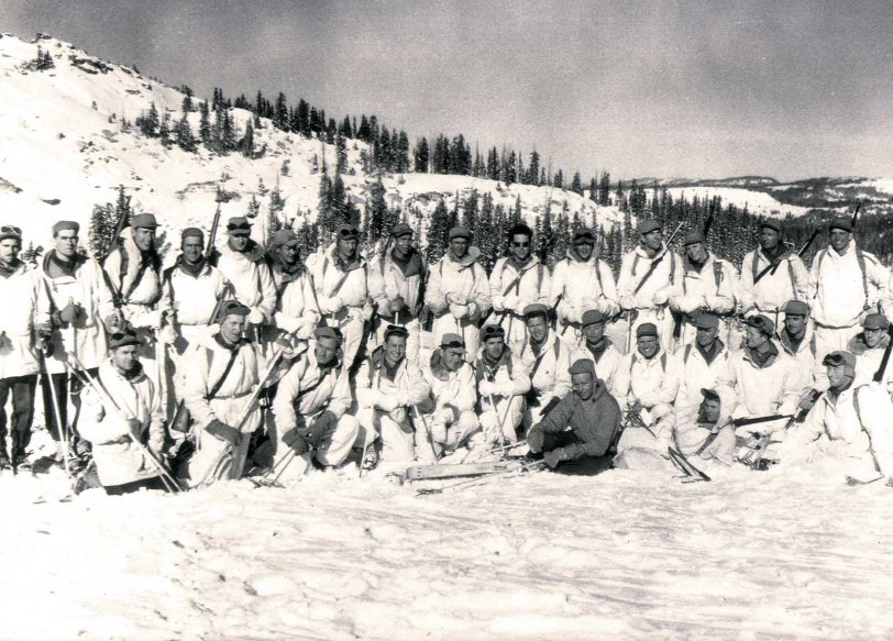 10th Mountain Division, Camp Hale: WWII