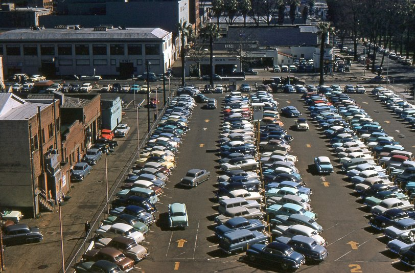A Lot of Cars: 1950s