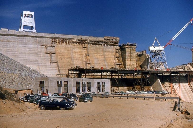 Dam Construction: 1955