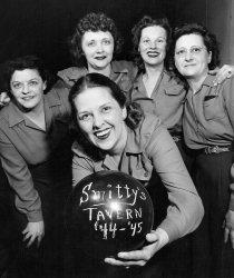 Having a Bowl: 1945