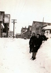 Snow day, 1943