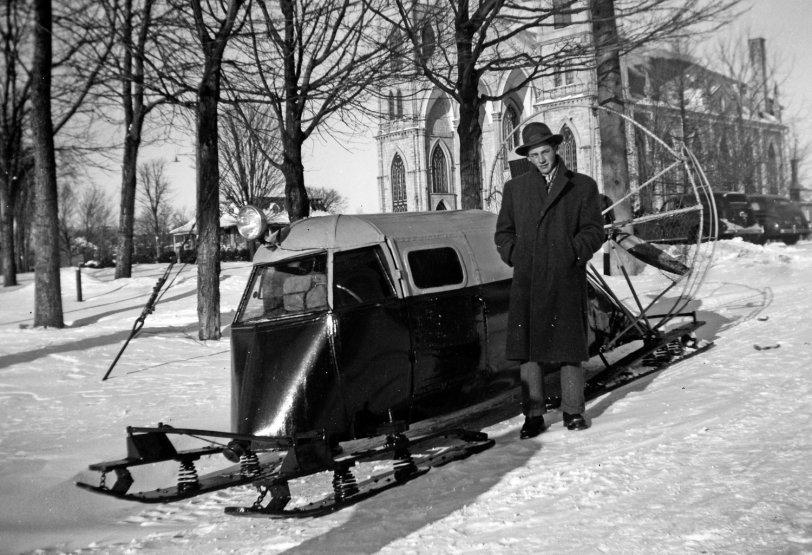 Snowmobile: 1948