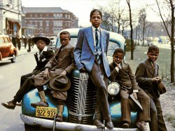Southside Easter (Colorized): 1941