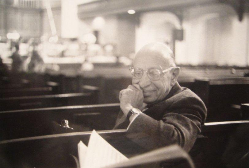 Igor Stravinsky: 1963