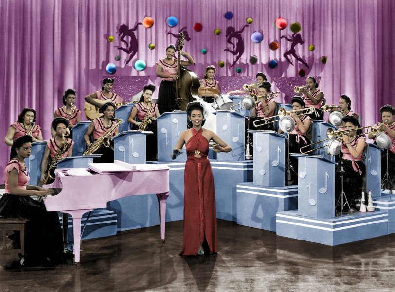 Sweethearts of Rhythm (Colorized): 1940s