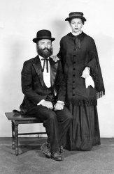 Centennial dress up: 1952