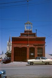 Virginia City With Cars: 1965