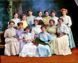 Theta Pi (Colorized): 1910