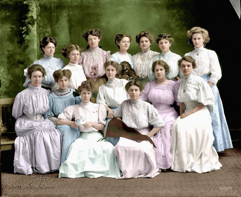 Theta Pi Pastels: 1910