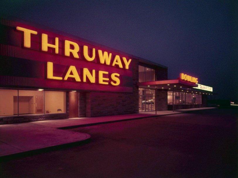 Thruway Lanes: 1956