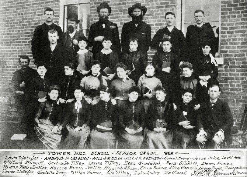 Senior Class: 1888