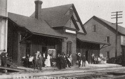Terra Alta Train Depot: 1910