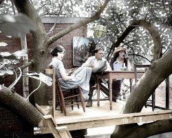 Avant-Garden (Colorized): 1921