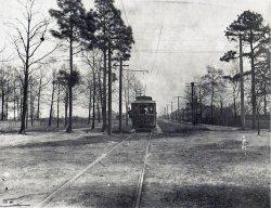 Trolley car, Columbia, South Carolina. c. 1900