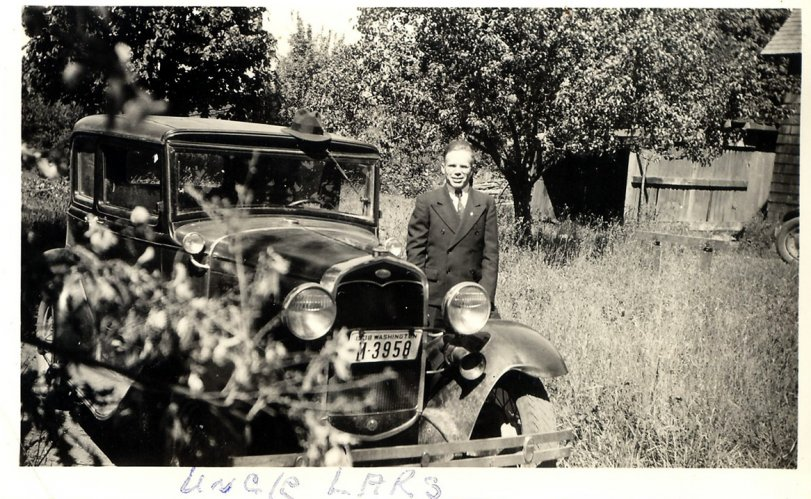 Uncle Lars and his Model A