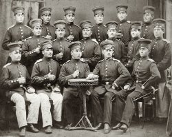 You're In The Army Now: 1870s