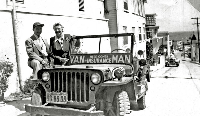 Van the Insurance Man: 1947