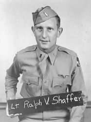 Lt. Ralph Vincent Shaffer: 1943