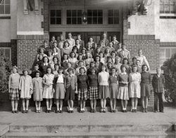 Ware Shoals High School seniors 1946