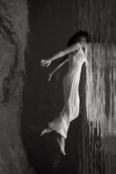 Floating Lady (Vertical)