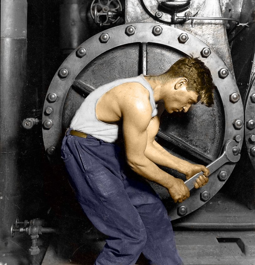 Powerhouse: 1920 (Colorized)