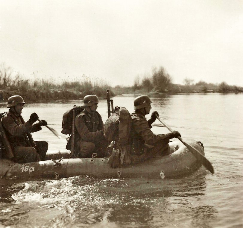 Water Crossing: WWII