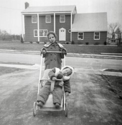 Driveway Stroll: 1963