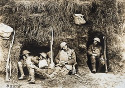 Napping Tommies 1918