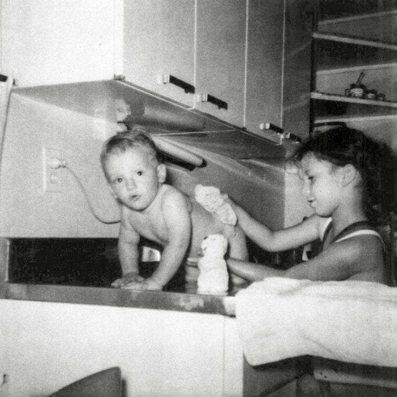 Bath Time: 1962