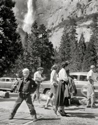 Yosemite Visitors: Mid-Fifties