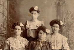 Four young ladies